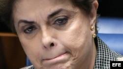 La presidenta suspendida de Brasil, Dilma Rousseff.