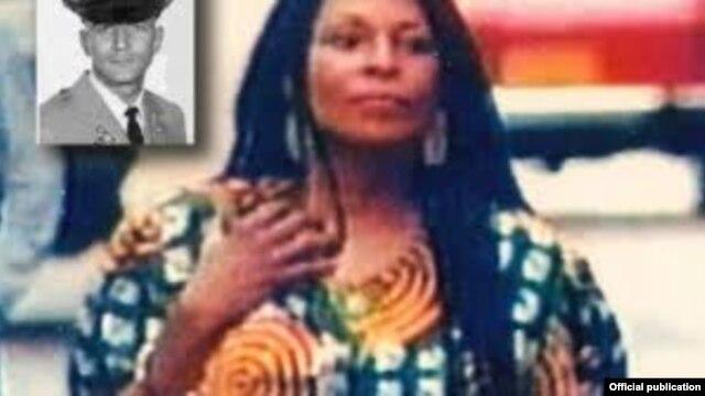 La líder del nombrado Ejército de Liberación Negro Joanne Chesimard.