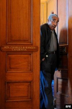El legislador demócrata Charles Rangel