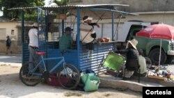 Venta de alimentos en Cuba