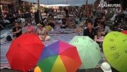 Divisiones internas entre los manifestantes de Hong Kong