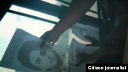 Reporta Cuba Por los presos politicos Foto Berta Soler.