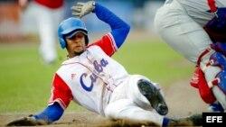 El jugador cubano Yulieski Gourriel