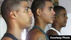 De izquierda a derecha, Leonardo Ramírez Odio, Alberto Ramírez Odio y Alberto de la Caridad Ramírez Baró.