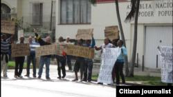 Reporta Cuba Protesta Habana febrero 5 Foto Angel Moya