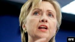 Hillary Clinton, foto de archivo.