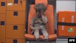Omran el niño sirio