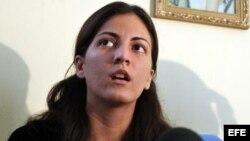 Rosa María Payá denunció la detención el martes del activista Rigoberto Rodríguez Feria, del Movimiento Cristiano Liberación.