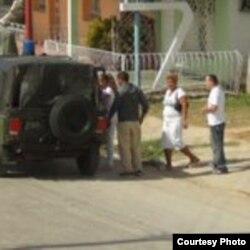 Arresto en Matanzas a Damas de Blanco.