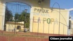 Reporta Cuba. Parque Infantil La Popa. Foto: Maidín Carretero.