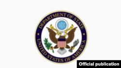 Logo del Departamento de Estado.