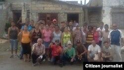 Reporta Cuba. Opositores FANTU Santa Clara, 7 de octubre. Foto: Yoel Bencomo.