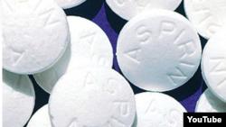 Aspirinas.