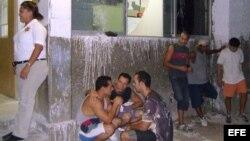 Imagen de archivo de emigrantes cubanos ilegales