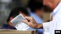 Foto Archivo. Elecciones en Colombia.