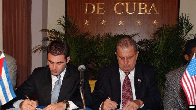 Firma de acuerdo alimenticio entre Cub y EE. UU.