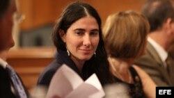 Yoani Sánchez visita el Departamento de Estado de Estados Unidos