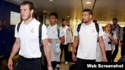 El Real Madrid arribó a China, donde jugará contra el Inter y el AC Milan.