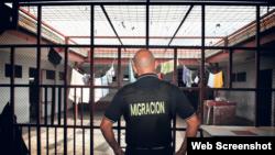 Centro de detenciones. Foto: :La Nación.