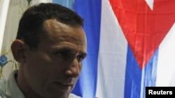 Foto de Archivo. José Daniel Ferrer en entrevista con Reuters.