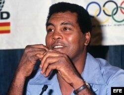 El boxeador tres veces campeón olímpico, Teófilo Stevenson/ Foto de archivo