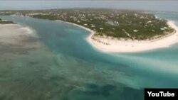 Islas Turcas y Caicos, al norte de Haití.