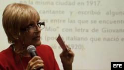 Eurídice Losada, musicóloga cubana.