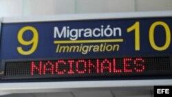 Aeropuerto Internacional Juan Santamaría de Costa Rica. Foto de archivo.