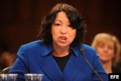 La jueza del Tribunal Supremo Sonia Sotomayor.