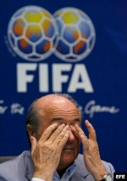 Foto de archivo del presidente de la FIFA, Joseph Blatter.