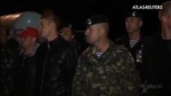 Los últimos militares ucranianos abandonan Crimena