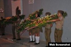 Santiago de Cuba duelo por muerte de Fidel