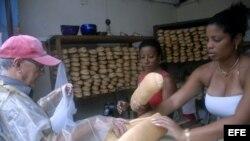 ARCHIVO. Una panadería cubana.