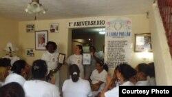 Damas de Blanco realizan Te Literario en La Hanana/ junio /18/ 2013