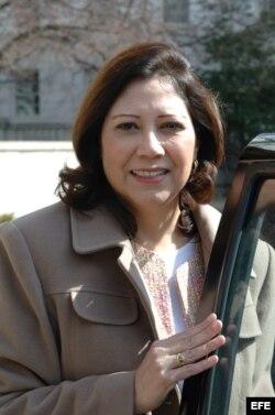 Hilda Solis,ex secretaia de Trabajo de EE.UU