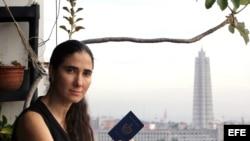 Yoani Sánchez, en foto de archivo