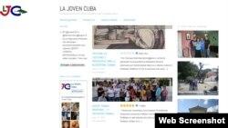 El blog La Joven Cuba estuvo meses fuera del ciberespacio por irreverente y por crítico del gobierno.