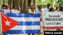 Damas de Blanco en La Habana