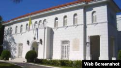 La sede de la Nunciatura Apostólica de La Habana.