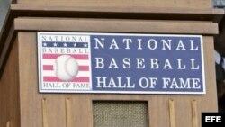 Salón de la Fama del béisbol de las Grandes Ligas en Cooperstown, Nueva York (EEUU).