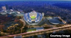 Maqueta olímpica para 2020.