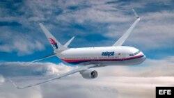 ARCHIVO. Recreación artística diseñada por ordenador del nuevo aparato Boeing 737-800 de Malaysia Airlines.