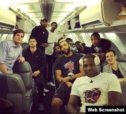 El Miami Heat regresó a la ciudad de Miami.