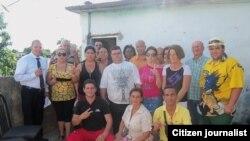 Reporta Cuba. Activistas se reúnen en Pinar del Río. Foto: José Ernesto Estrada.