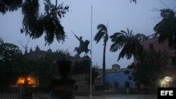 Lluvias sobre la ciudad de Camagüey