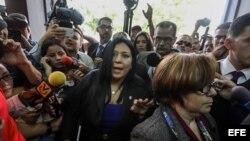 Fiscalía venezolana niega entrada a vicefiscal general designada por Supremo.