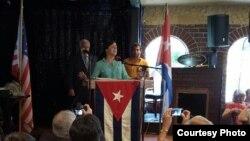 Casa Cuba Tampa con Rosa María Payá.