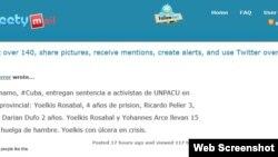 Confirman sentencias a activistas UNPACU.