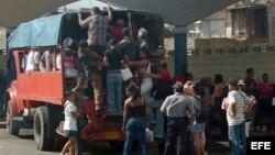 Transporte público en Cuba