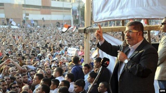 El presidente de Egipto, Mohamed Mursi